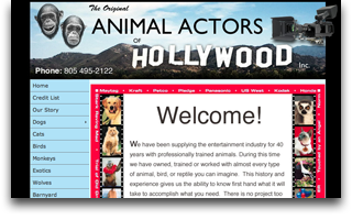 Animal Actors of Hollywood
