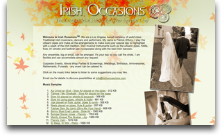 Irish Occasions
